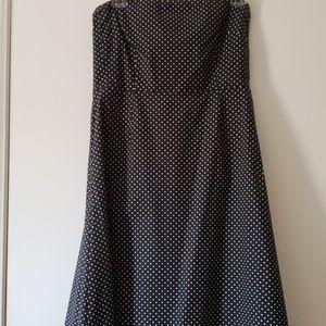 New York & Co. Stretch strapless dress sz 14